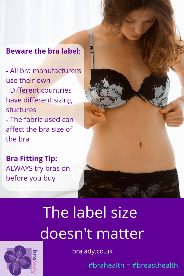 bra size doesn't matter