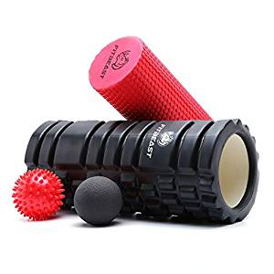 foam roller and release ball